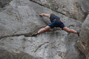 Frygani Klettern
