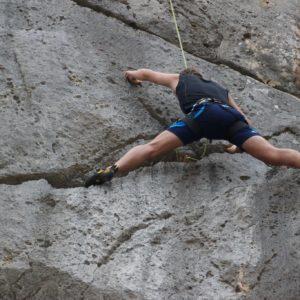 Climbing Frygani