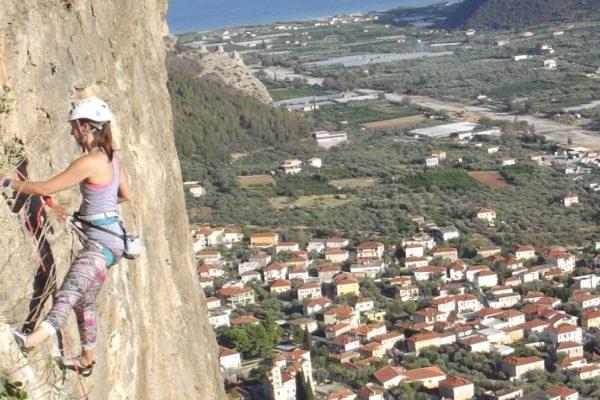Climbing Leonidio