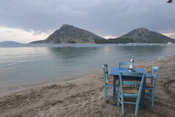 Hiking from Nafplio to Tolo