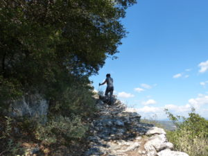Rundwanderweg am Fuße des Taygetos